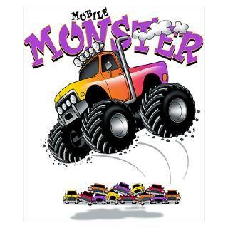Kids Monster Truck Posters & Prints