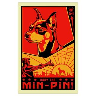 Min Pin Posters & Prints