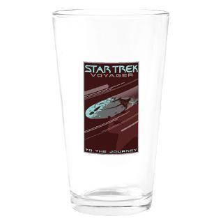 Retro Star TrekVOY Poster Pint Glass