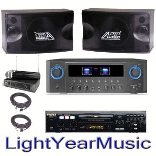 Home Club Karaoke System Neo RSQ 22 CDG USB Player CD Machine Digital