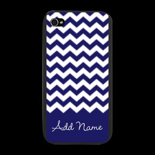 Art Gifts  Art iPhone Cases  Chevrons Blue White iPhone Snap Case