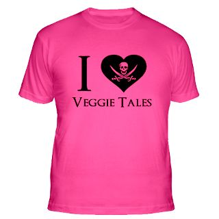 Love Veggie Tales T Shirts  I Love Veggie Tales Shirts & Tees