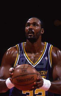 1995 96 Topps Basketball Slide Negative Karl Malone Utah Jazz