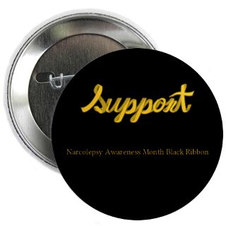 Support Narcolepsy Awareness Month Black Ribbon Gifts & Merchandise