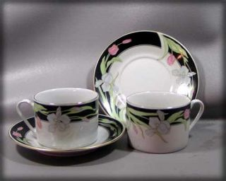 Fairfield Vanessa Fine China Cup Saucer Yung Shen
