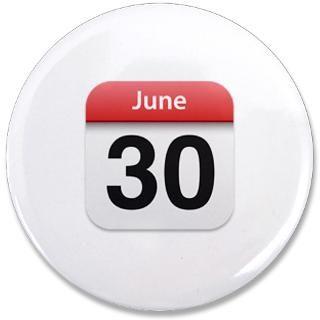 iPhone Calendar June 30  Apple iPhone Calendar June 30 3.5 Button