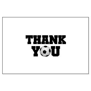 size 20 5 x 10 1 view larger soccer thank you large poster soccer