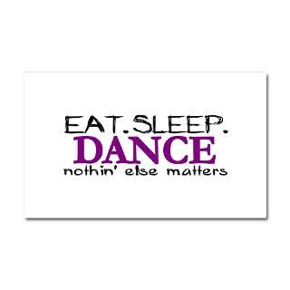 Gifts  Ballet Car Accessories  Eat Sleep Dance Car Magnet 20 x 12