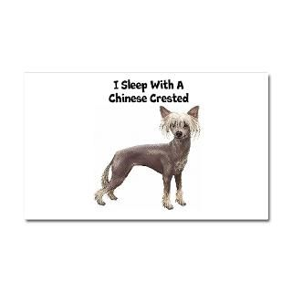 Chinese Crested Car Accessories  Chinese Crested Car Magnet 20 x 12