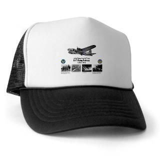 Gifts  Air Force Hats & Caps  B 17 Commemorative Trucker Hat