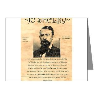 Civil War Note Cards  General Jo Shelby Note Cards (Pk of 20