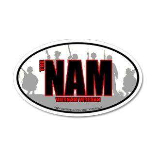 Window Wall Decals  The Nam Brothers 38.5 x 24.5 Oval Wall Peel