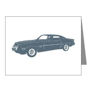 Muscle Car Chevrolet Chevy Thank You Note Cards