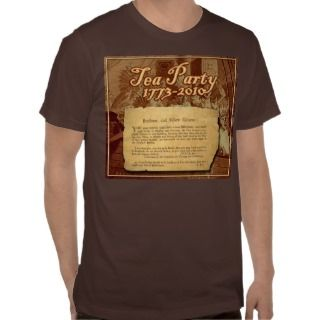 The Original Tea Party Invitation Tees