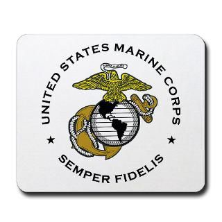 USMC 34 mousepad