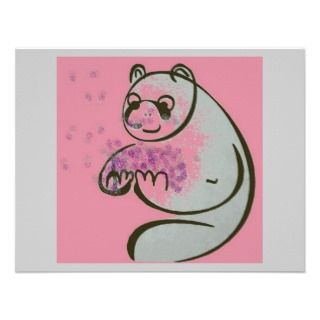 Panda Bears Pop Art Invite
