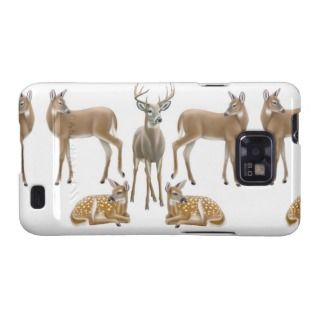 Whitetail Deer Family Samsung Galaxy S Case Samsung Galaxy Case