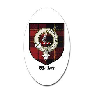 Wallace Family Crest Stickers  Car Bumper Stickers, Decals