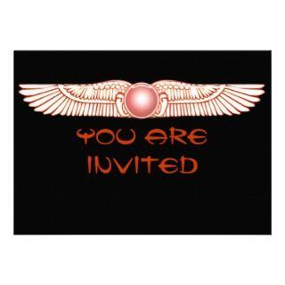 Sumerian Anunnaki Winged Sun Disk Invitations