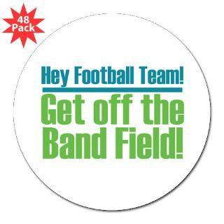 Marching Band Field 3 Lapel Sticker (48 pk