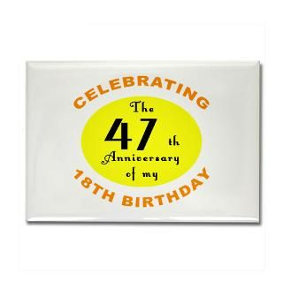 65Th Birthday Magnet  Buy 65Th Birthday Fridge Magnets Online