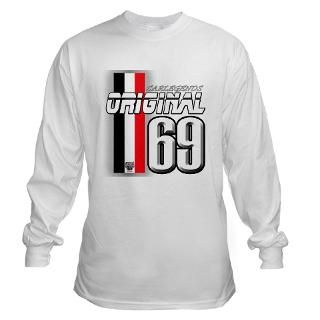 Mustang 69 RWB Long Sleeve T Shirt