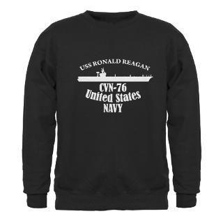 76 Gifts  76 Sweatshirts & Hoodies  USS Ronald Reagan Sweatshirt
