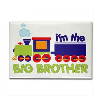 train big brother t shirts Rectangle Magnet
