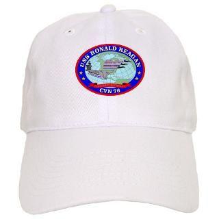 76 Gifts  76 Hats & Caps  USS Ronald Reagan Baseball Cap