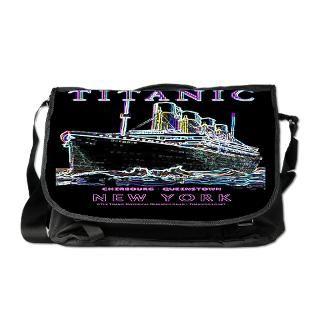 Titanic Neon (black) Messenger Bag