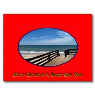 Merry Christmas & Happy New Year Vero Beach FL Post Cards