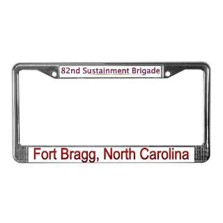 18Th Airborne Corps License Plate Frame  Buy 18Th Airborne Corps Car