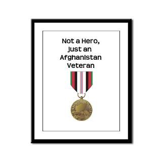 Not a Hero   Afghanistan Rectangle Sticker 10 pk)