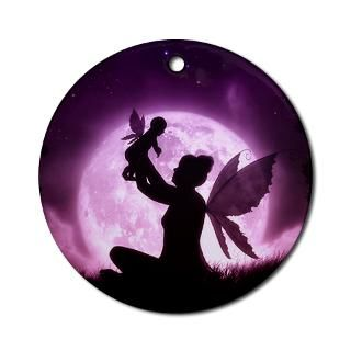 Little Blessing  Fairy Fantasy Silhouettes by Julie Fain