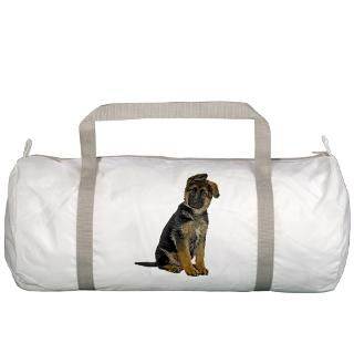 Breed Gifts  Breed Bags  German Shepherd Puppy Gym Bag