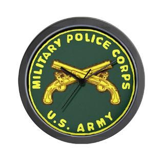 Military Police Corps Wall Clock  Army Reserve 94th MP Company