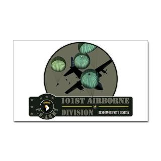 101St Airborne Screaming Eagles Stickers  Car Bumper Stickers, Decals