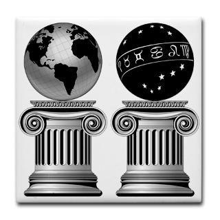 Two Masonic Pillars  Masonic Designs