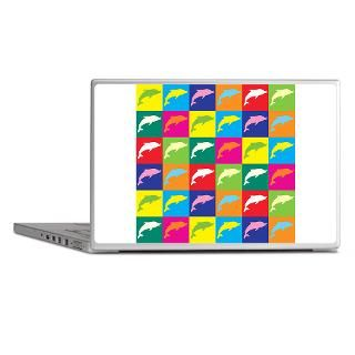 Andy Warhol Gifts  Andy Warhol Laptop Skins  Pop Art Dolphin
