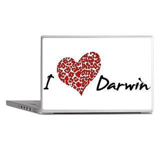 Anti Christian Gifts  Anti Christian Laptop Skins  I Heart Darwin