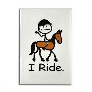 English Horse Riding  BusyBodies Stick Figure T shirts and unique