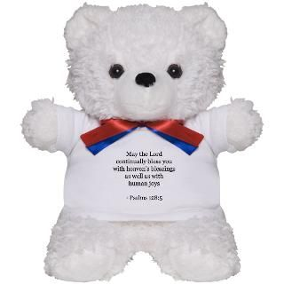Christian Bible Verses Jesus Christ Psalm Psalms Teddy Bear  Buy a