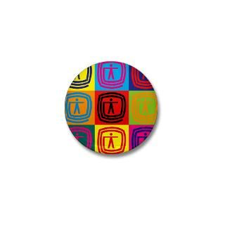 Occupational Therapy Pop Art Mini Button
