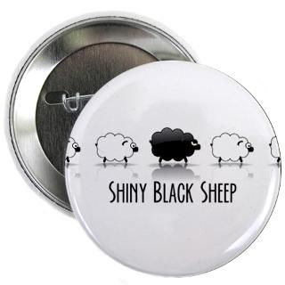 Black Sheep, white sheep 2.25 Button (100 pack)