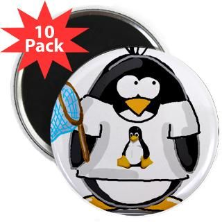 linux vs windows Penguin 2.25 Magnet (10 pack)