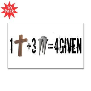 Forgiven in Jesus T Shirts, Stickers & Gifts  All Five Stones