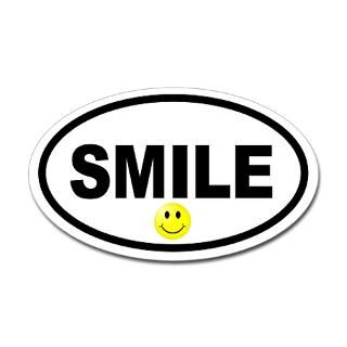 Smiley Face Stickers  Car Bumper Stickers, Decals