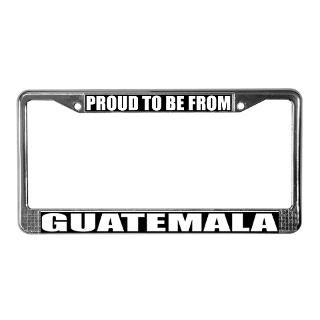 Guatemala License Plate Frame  Buy Guatemala Car License Plate