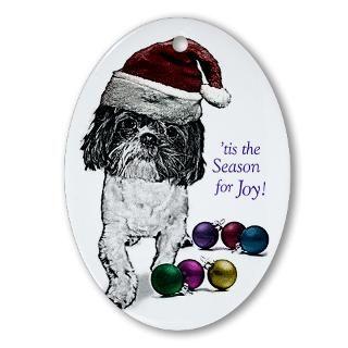 Shih Tzu Angel Christmas Ornaments  Unique Designs