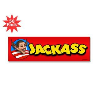 obama jackass sticker bumper 50 pk $ 126 99